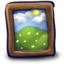 128x128px size png icon of Picture Frame Bray!