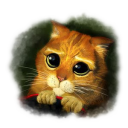 128x128px size png icon of Puss 3