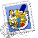 128x128px size png icon of Mail Simpsons