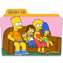 The Simpsons Season 19 Icon
