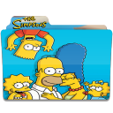128x128px size png icon of Simpsons Folder 01