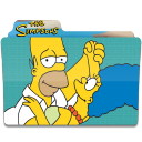 128x128px size png icon of Simpsons Folder 05