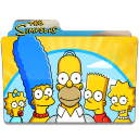 128x128px size png icon of Simpsons Folder 06