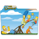 128x128px size png icon of Simpsons Folder 10