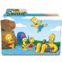 128x128px size png icon of Simpsons Folder 15