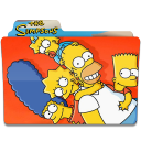 128x128px size png icon of Simpsons Folder 27
