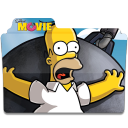 128x128px size png icon of Simpsons Folder The Movie 02