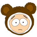 128x128px size png icon of Butters Mr Biggles head
