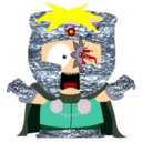 128x128px size png icon of Butters Professor Chaos