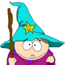 128x128px size png icon of cartman gandalf zoomed