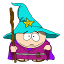 128x128px size png icon of cartman gandalf