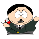 128x128px size png icon of cartman hitler