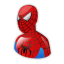 128x128px size png icon of Spiderman