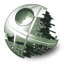 128x128px size png icon of Death Star