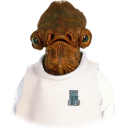 128x128px size png icon of Ackbar