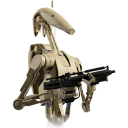 128x128px size png icon of Battle Droid 01