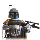 128x128px size png icon of Boba Fett