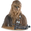128x128px size png icon of Chewbacca