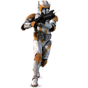 128x128px size png icon of Clone Commander Cody