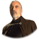 128x128px size png icon of Count Dooku 02