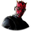 128x128px size png icon of Darth Maul 02