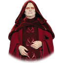 128x128px size png icon of Darth Sidious 01