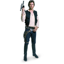 128x128px size png icon of Han Solo 01
