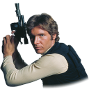 128x128px size png icon of Han Solo 02