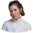 128x128px size png icon of Leia