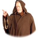 128x128px size png icon of Old Obi Wan