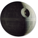 128x128px size png icon of Death Star 1st