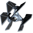128x128px size png icon of Tie Defender 01