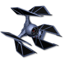 128x128px size png icon of Tie Defender 02