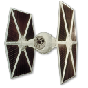 128x128px size png icon of Tie Fighter 02