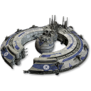 128x128px size png icon of Trade Federation Battleship