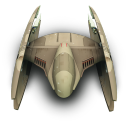 128x128px size png icon of DridStarFighter