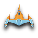 128x128px size png icon of NabooStarFighter