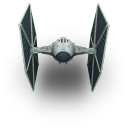 128x128px size png icon of TieFighter