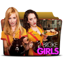 128x128px size png icon of 2 Broke Girls