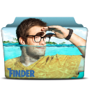 128x128px size png icon of The Finder