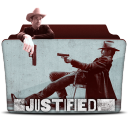 128x128px size png icon of Justified