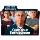 128x128px size png icon of Curb Your Enthusiasm