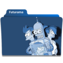 128x128px size png icon of Futurama