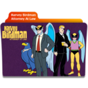 128x128px size png icon of Harvey Birdman Attorney At Law