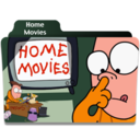 128x128px size png icon of Home Movies