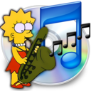 128x128px size png icon of iTunes lisa