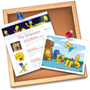 128x128px size png icon of iWeb simpsons