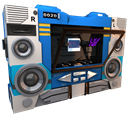128x128px size png icon of Transformers Soundwave no tape side