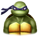 128x128px size png icon of Donatelo