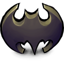 128x128px size png icon of Comics Batman Logo